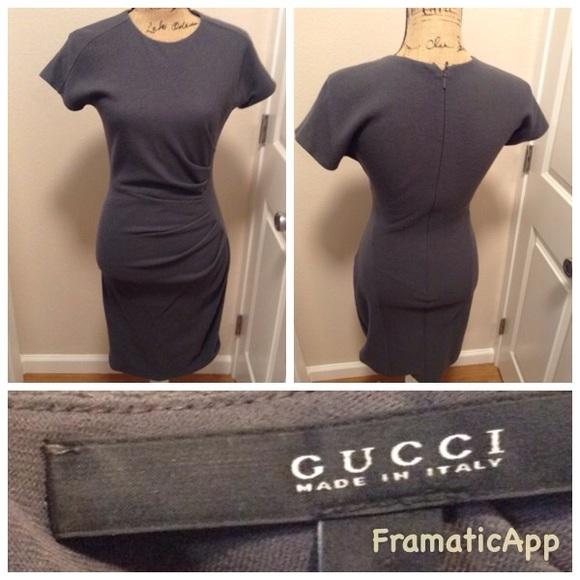 8980af9f4 Women's Gucci Gray Fitted Dress. M_5a5396c8a6e3ea76d800b013